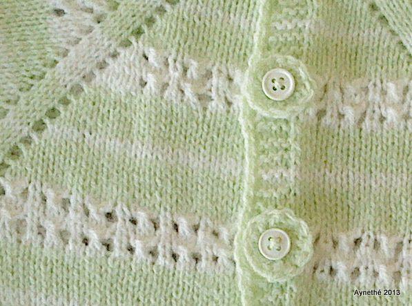 Trou-trou au tricot