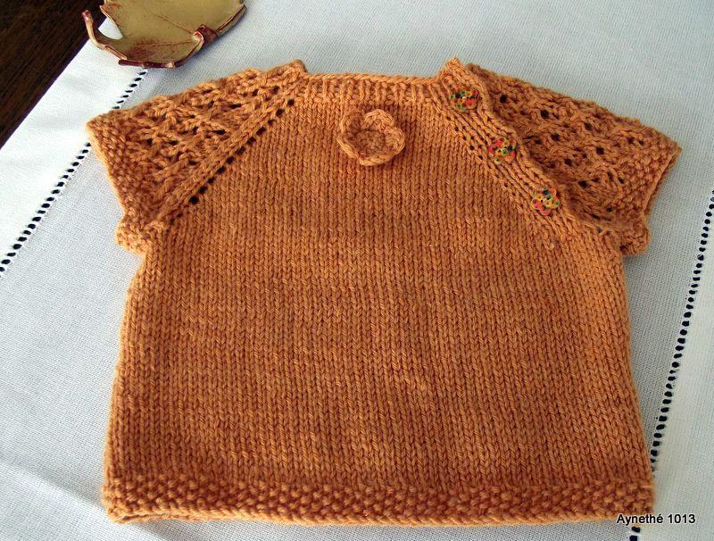 modele tricot gratuit sans couture