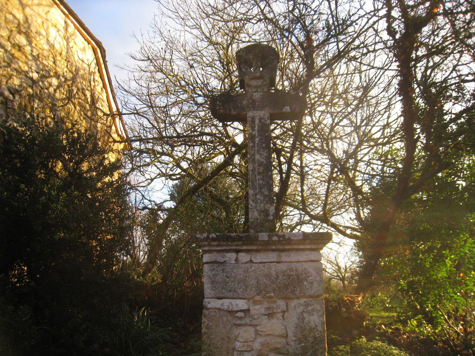 Ladornac : une croix de 1864 !!!