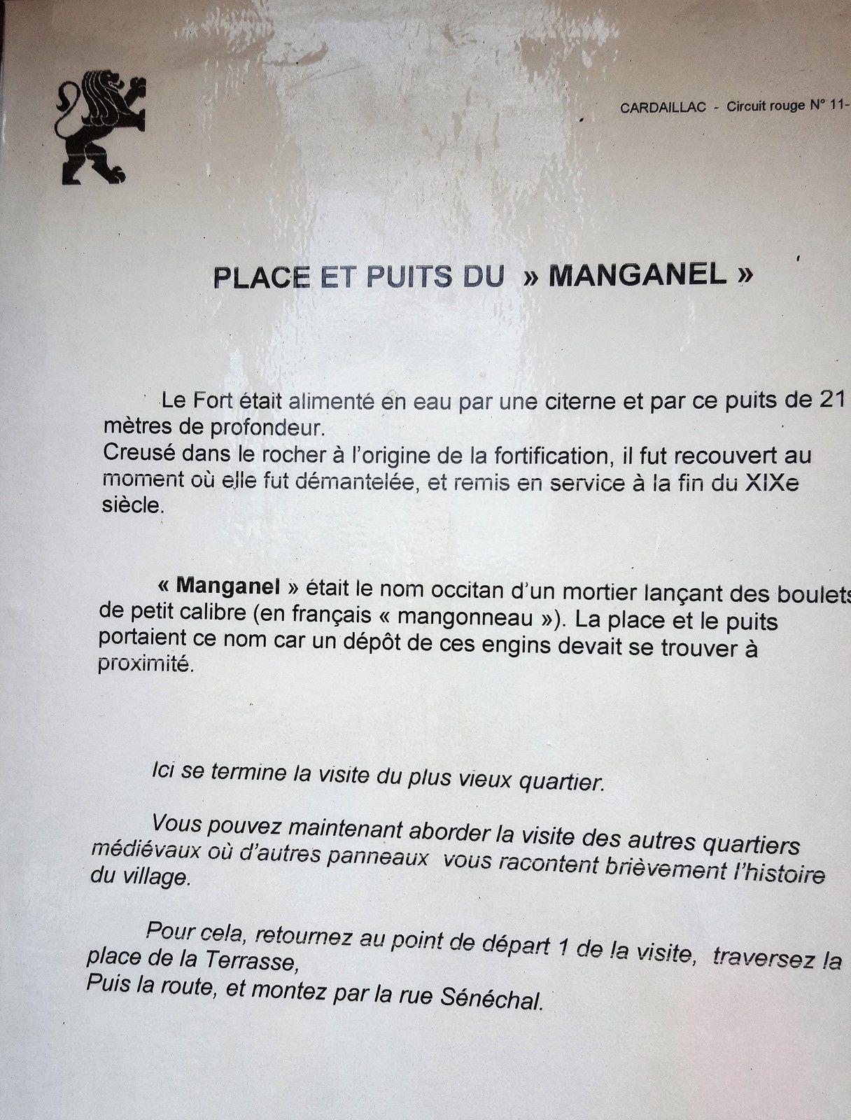 Cardaillac, circuit plan d'eau des Sagnes (46), le 23/07/2017