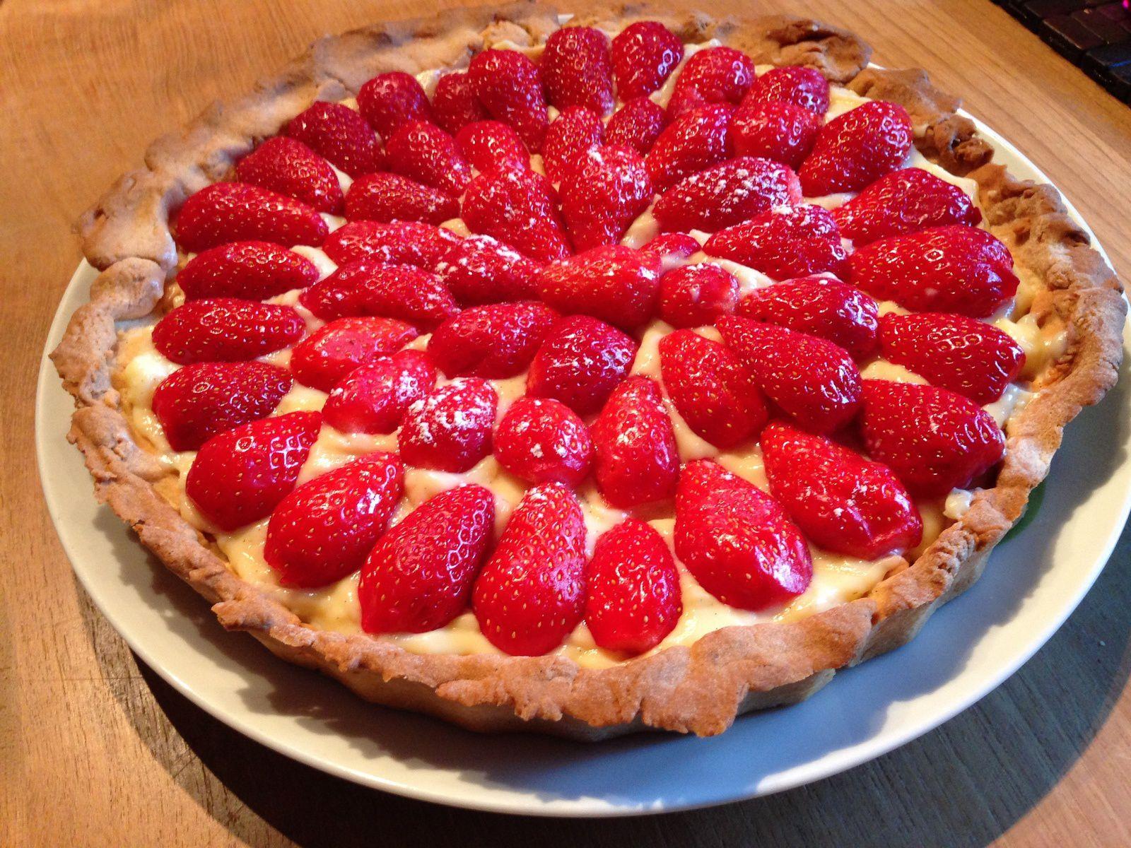 Tarte aux fraises !