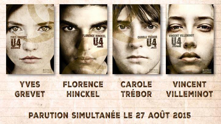U4 : Koridwen, Yves Grevet, Syros, Nathan, 2015