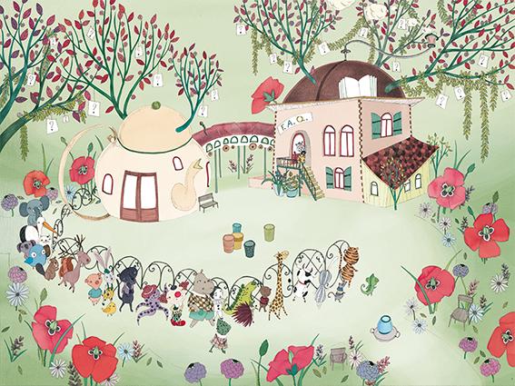 A l'école des doudous ou comment devenir un doudou, F. Elbaz, Isaly, Les éditions du mercredi, 2015