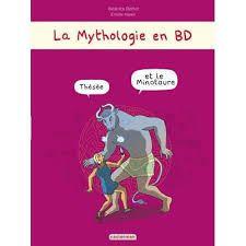 La mythologie en BD : Thésée et le minotaure, Béatrice Bottet, Emilie Harel, Casterman, 2015
