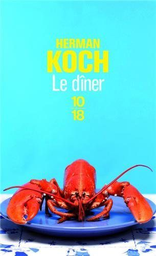 Le dîner d'Herman Koch, collections 10/18