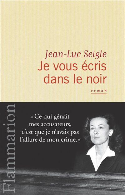 Je vous écris dans le noir de Jean -Luc Seigle, J'ai Lu