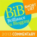 NOMINATE ME BiB 2013 COMMENTARY