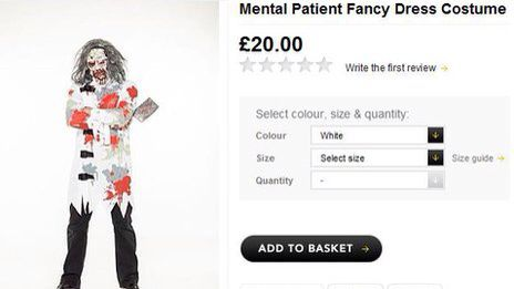 Just who approved this? That Asda costume and similar..