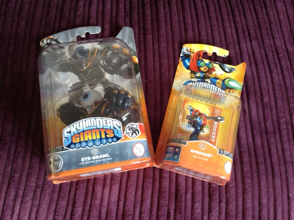 Enjoying being in Team Skylanders with new characters #TeamSkylanders