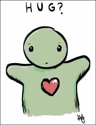A Hug #Prose4T