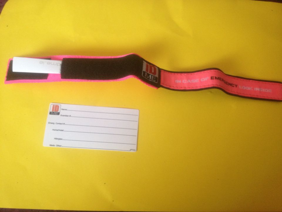 Peace of mind with iD Me wristbands - #Review and #competition