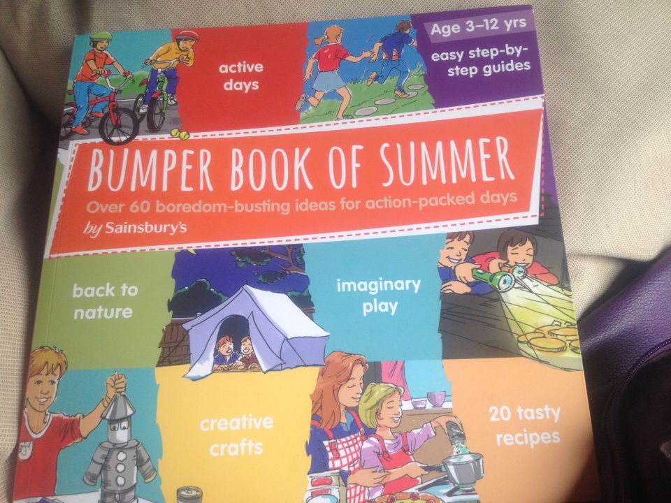 """Starting our """"Bumper Book of Summer"""" with a splash! Sun 14th July 2013 #autism #diarypost"""