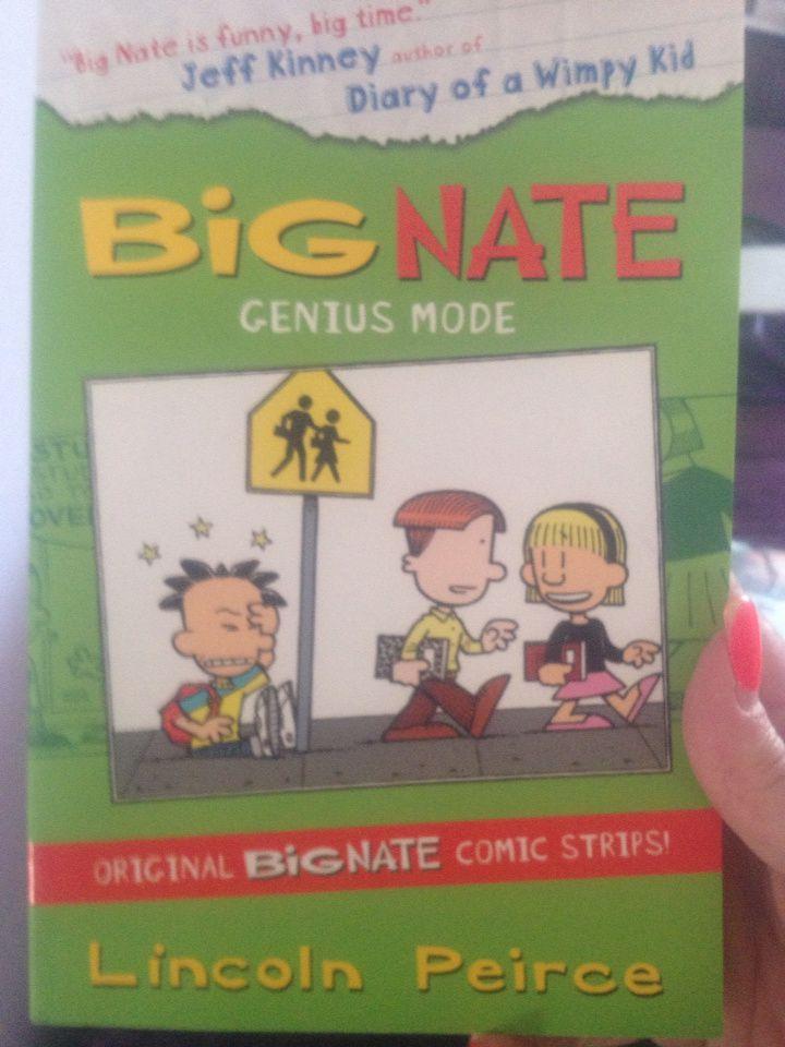 Big Nate Genius Mode by T #BookwormWednesday