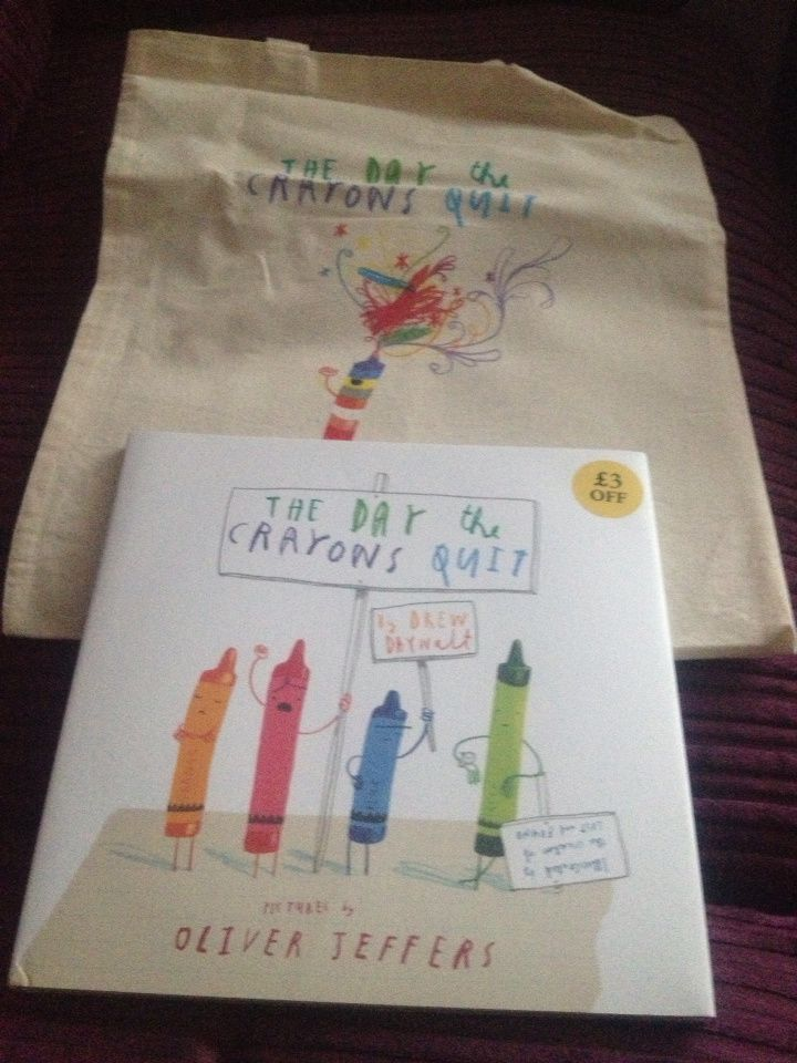 The Day The Crayons Quit #BookwormWednesday