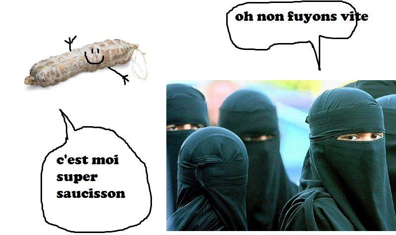 l'islam ne pasera pa! nou som tous dé mangeur de cochon!