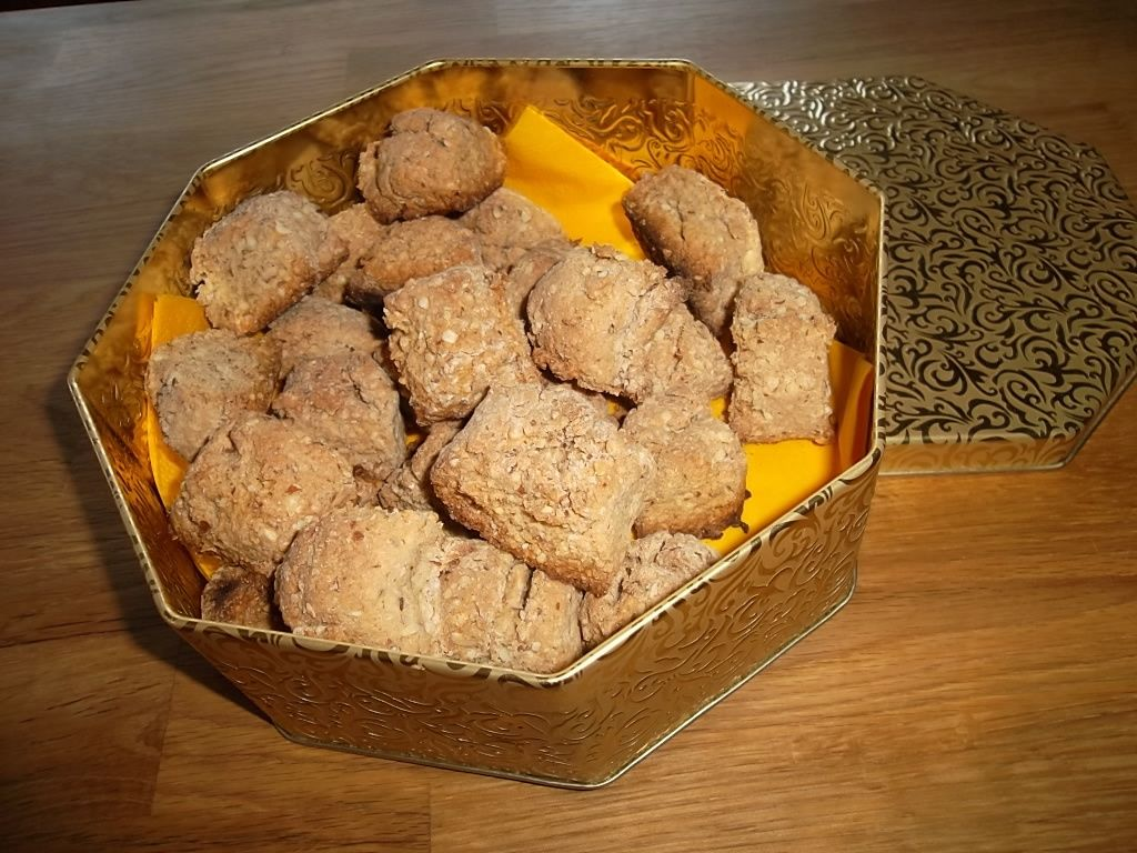 Biscuits aux amandes, sans gluten