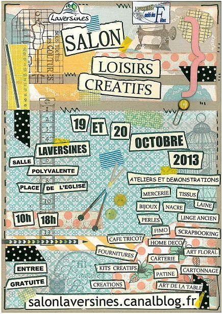 Make &amp&#x3B;Take perles feutrées à Laversines