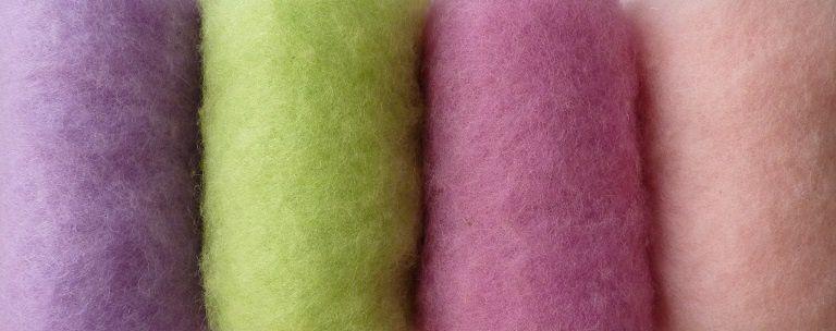 Atelier pâtisseries feutrées en laine cardée