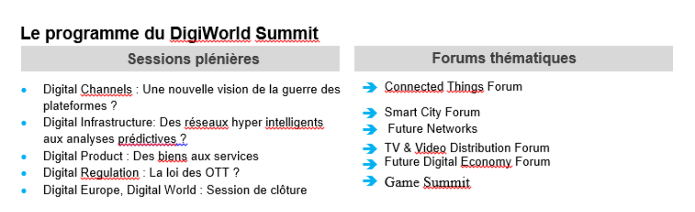 #DigiWorld Summit 2015 à Montpellier