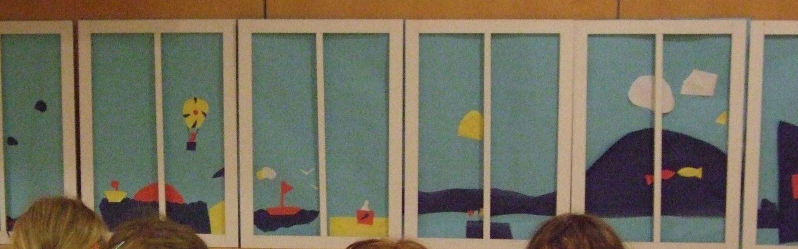 Vues mer à la manière de Matisse