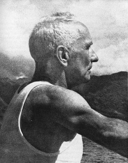 Eric de Bisschop, marin français (1891-1958, atoll de Rakihanga, Îles Cook)