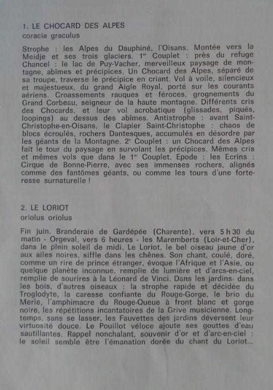 Olivier Messiaen: Catalogue d'oiseaux (Yvonne Loriod)