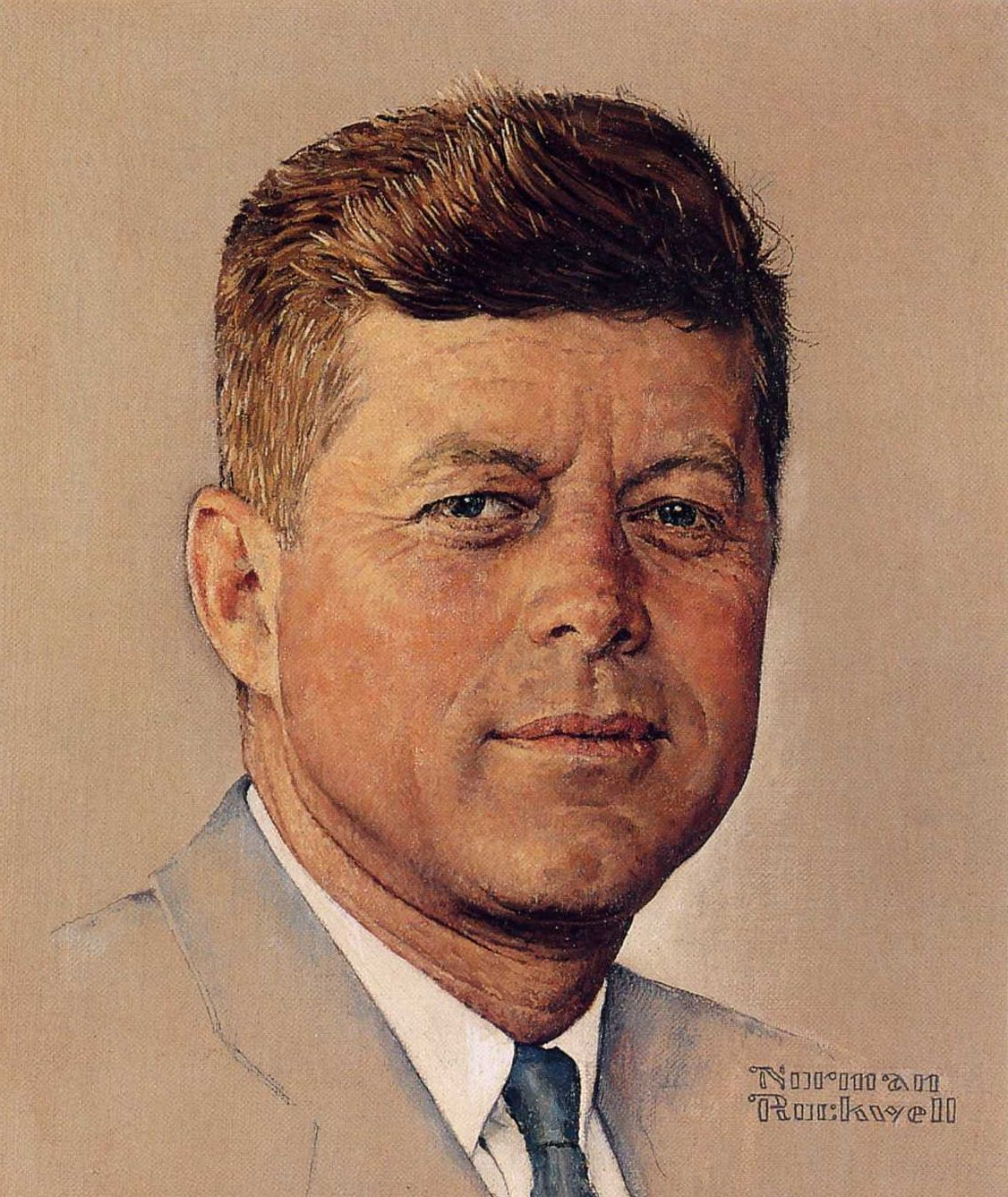 Norman Rockwell: Portrait of John F. Kennedy