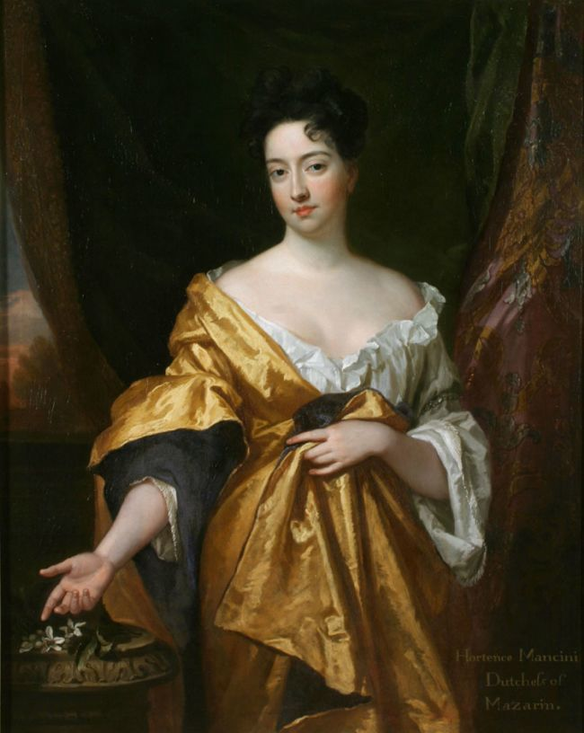 Hortense Mancini, duchesse de Mazarin, par sir Godfrey Kneller (1671)