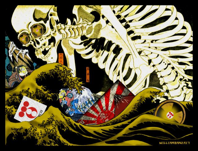Source de l'illustration&#x3B; http://allnewspipeline.com/Fukushima_Death_America_Next.php
