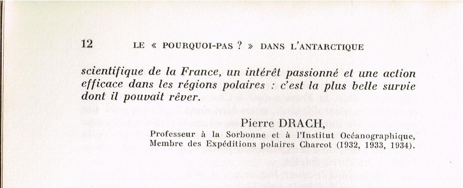 Commandant Charcot: Le Pourquoi-Pas ? dans l'Antarctique, Flammarion, 1968.