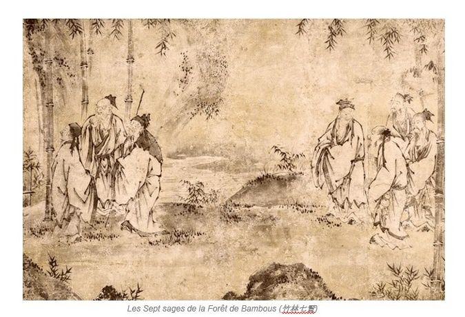 Retourner à la nature (Xi Kang)