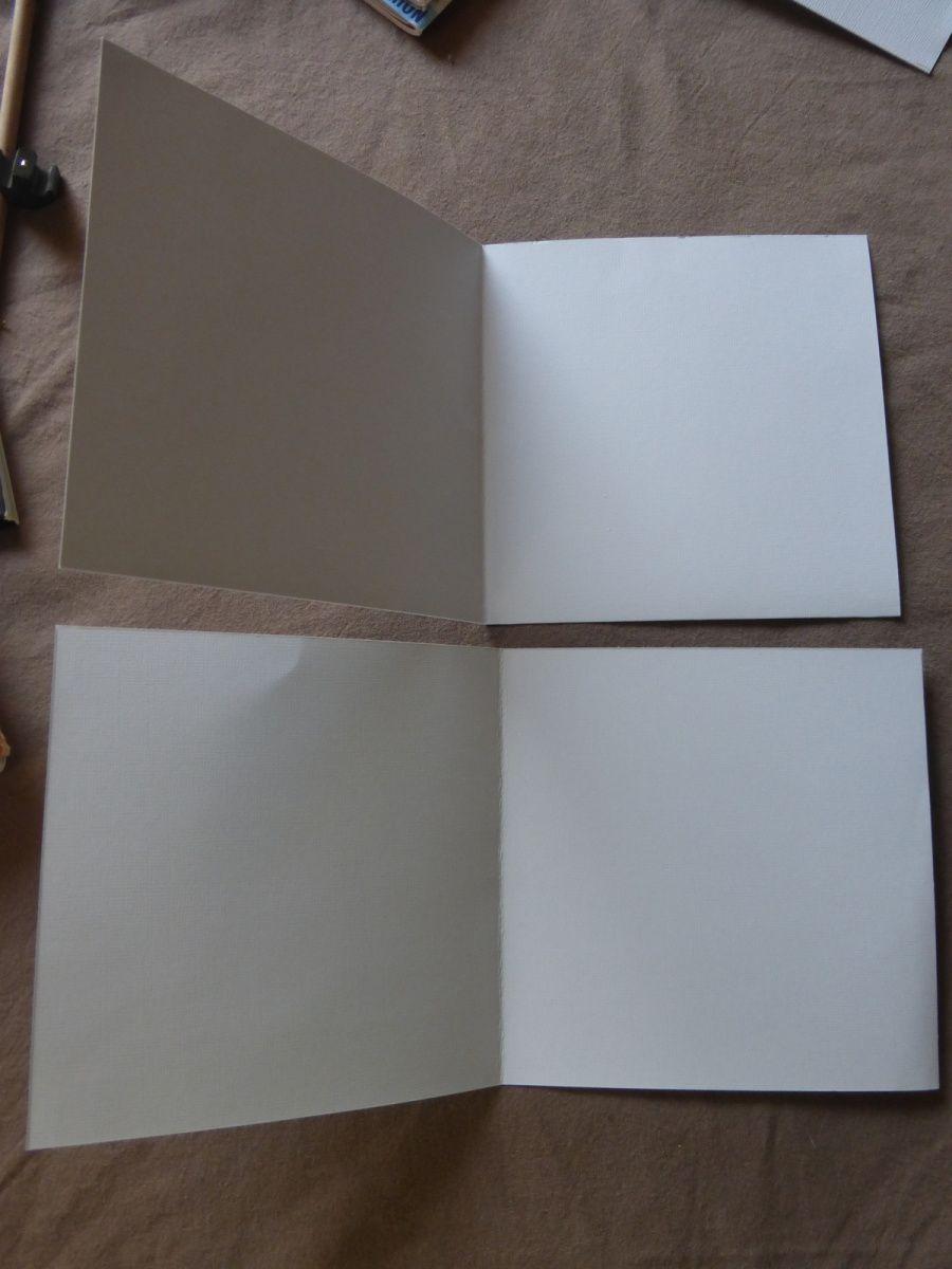 les pages de l'album