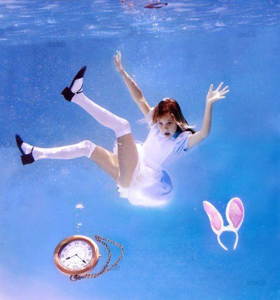 L'image du mercredi : Alice in Waterland