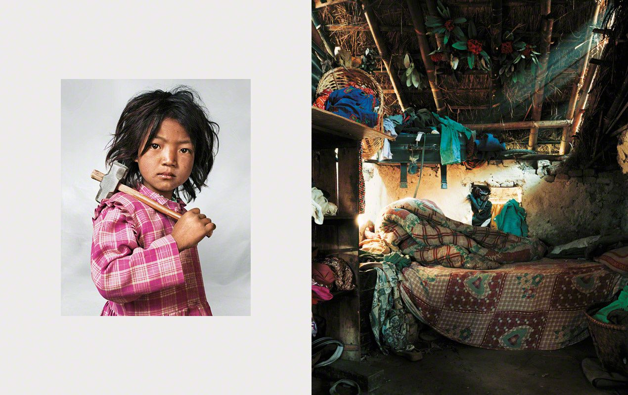 "L'image du mercredi : ""Where Children Sleep"""