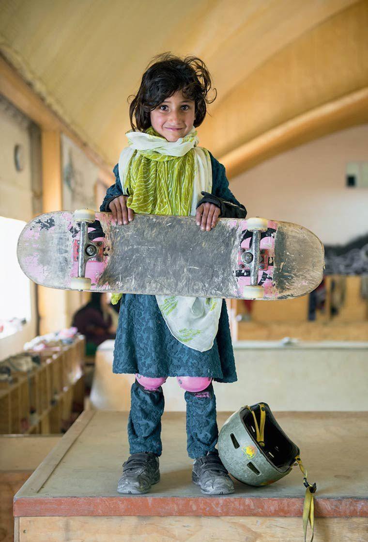 L'image du mercredi : Skate Girls of Kabul