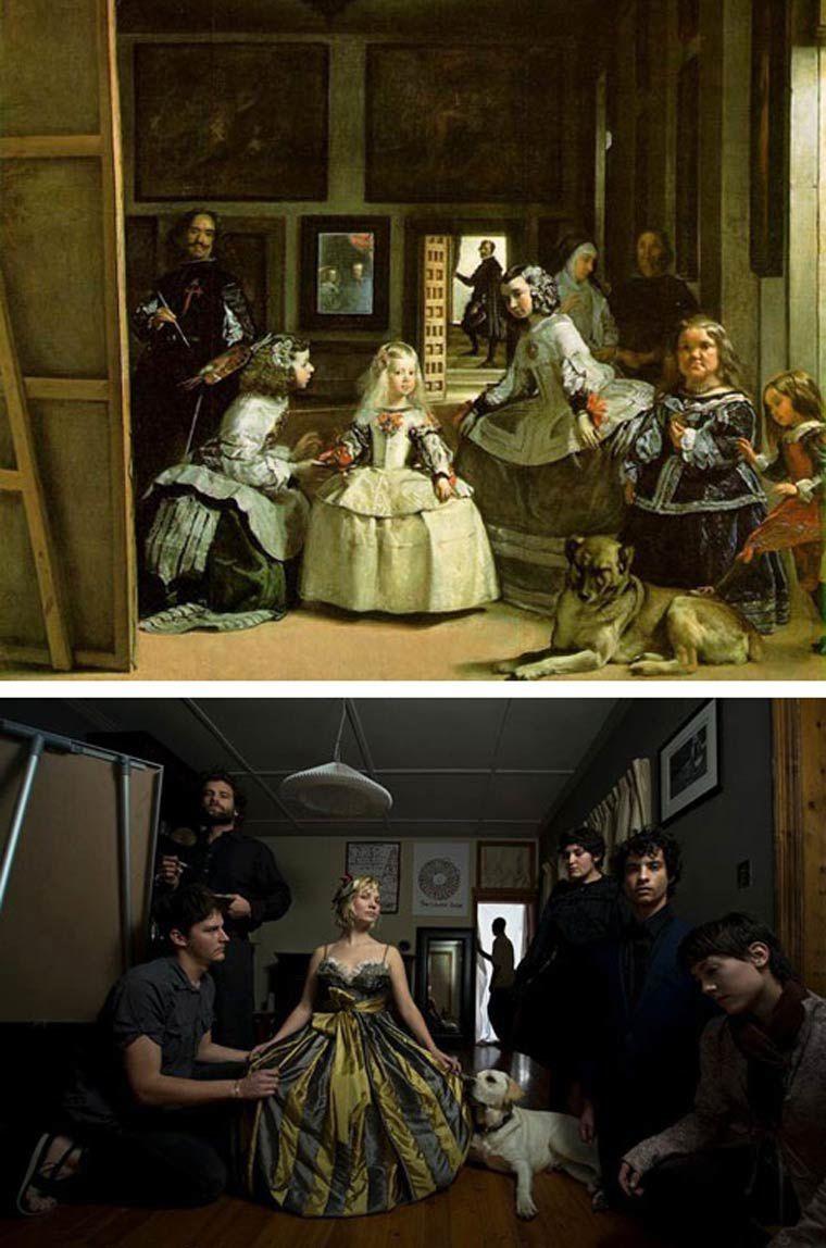 Photographie : recréer des tableaux célèbres