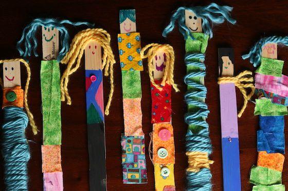 Des petites marionettes