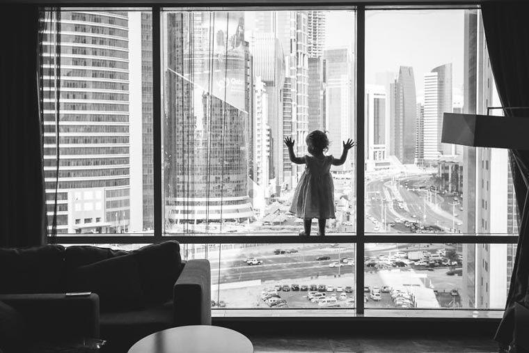 L'image du mercredi : Black and White Child photo contest