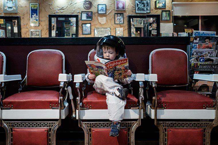 L'image du mercredi : &quot&#x3B;Little Astronaut&quot&#x3B;