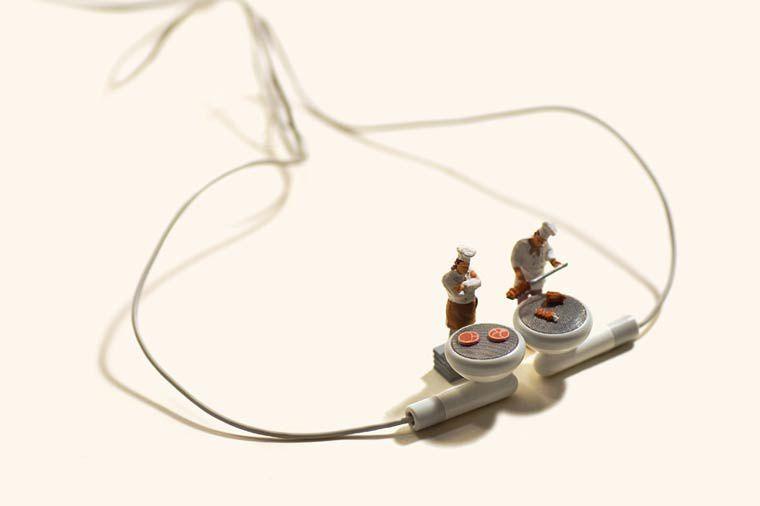 Des créations miniatures au quotidien