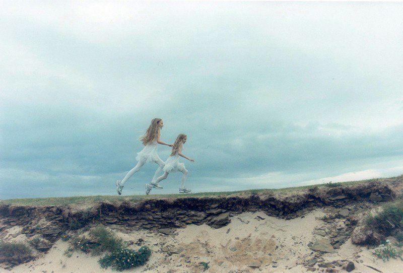 L'image du mercredi : Erna et Hrefna, jumelles islandaises