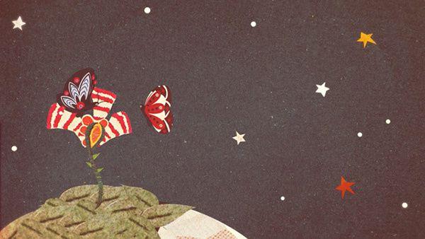 Le Petit Prince en collage papier