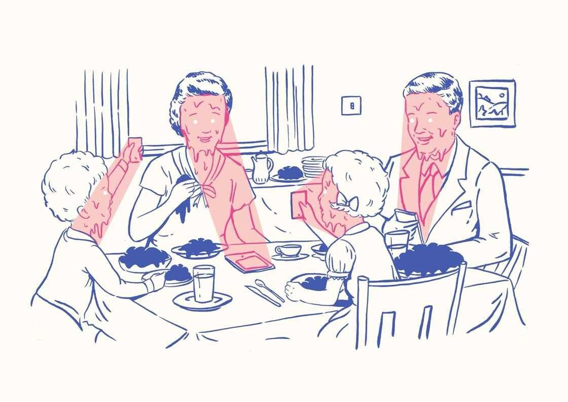 L'image du mercredi : les enfants connectés de Kristian Jones