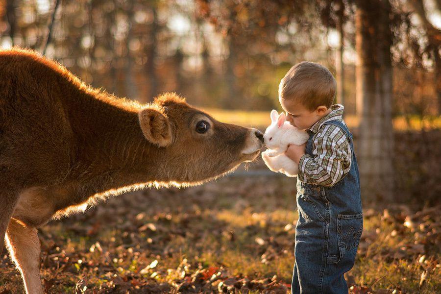 L'image du mercredi : les portraits d'enfants de Phillip Haumesser
