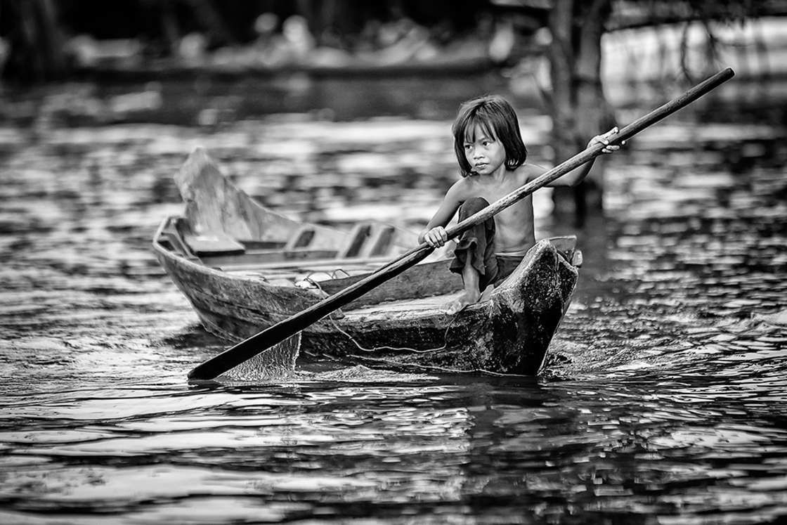 L'image du mercredi : Black and White Child Photo Contest 2016
