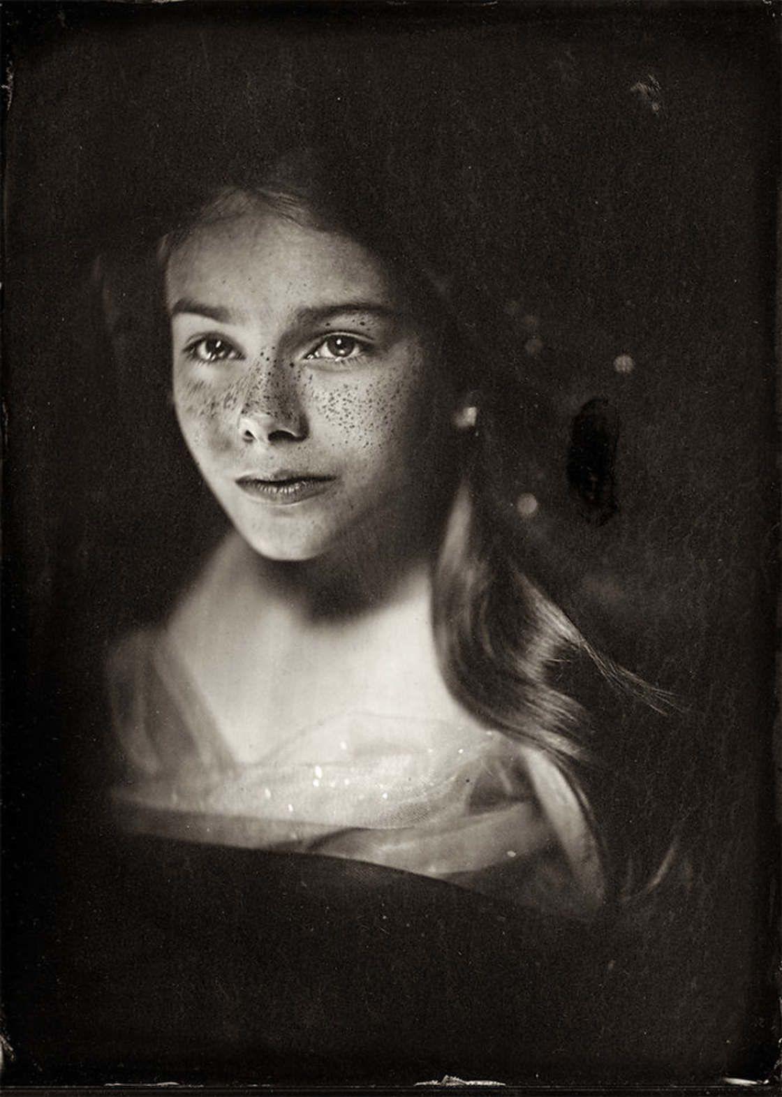 L'image du mercredi : de délicats portraits d'enfants au collodion humide