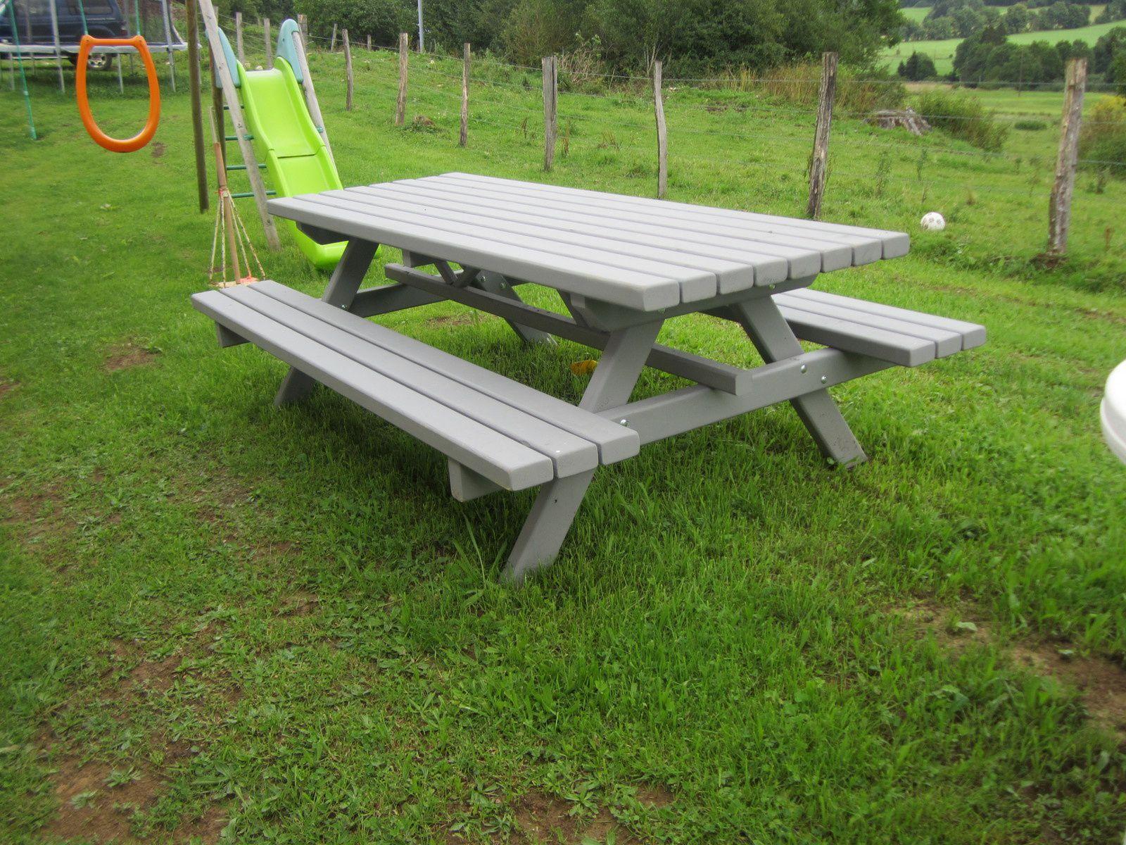 Table de jardin - Ma passion pour le travail du bois ...