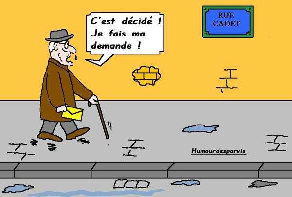 Humour des parvis: «il n'est jamais trop tard» (blog)