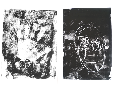 Monotypes de Nils