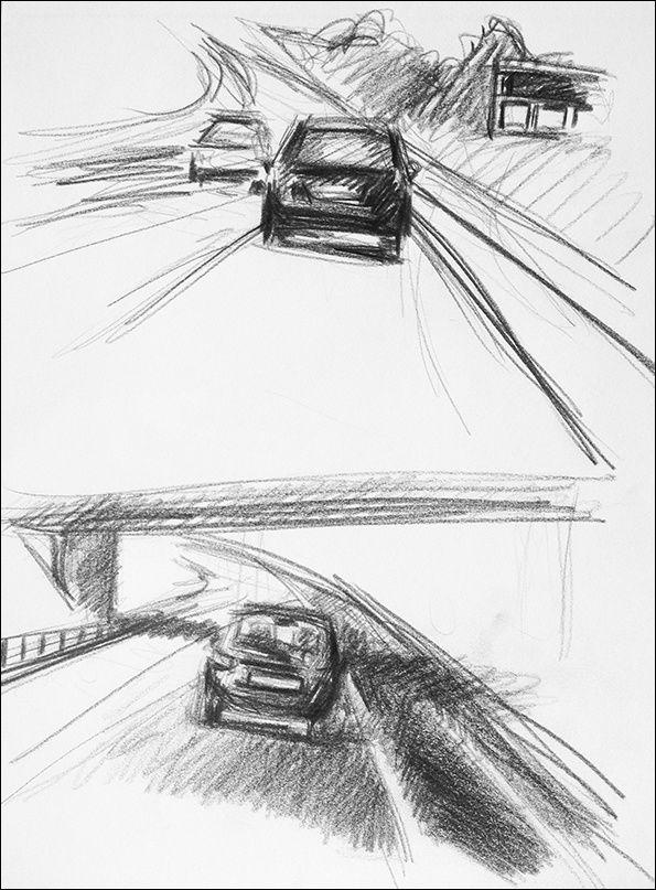 En voiture, les seuls modèles qu'on croise sont des voitures et … A SUIVRE
